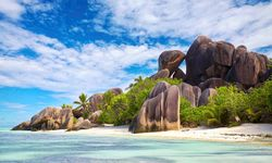 Imposing Rocks on the Beach
