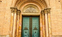 Quito Cathedral Doorway