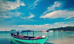 Boat in Sihanoukville