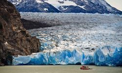 A Large Glacier in Patagonia
