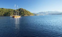 Turkey Boat in the Aegean Sea
