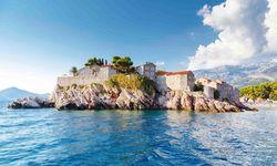 Island off Montenegro