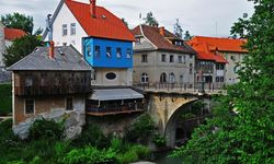 Medieval houses in Slovenia
