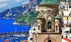 Amalfi buildings view