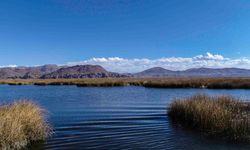 Distant View of Titicaca