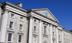 A picture of Trinity College, Dublin