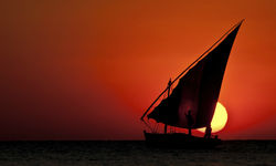 Sunset Dhow Sailing, Mozambique