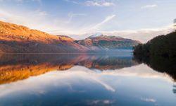 The stunning view of Loch Lomond