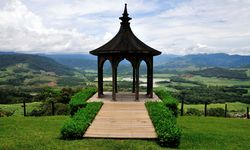 Central valley mountain views