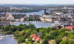 Sweden's Capital from the Air