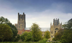 An image of Ely Cathedral, Cambridgeshire