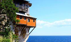 Xenofontos Monastery on the Cliff