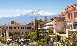 Sicily volcano view