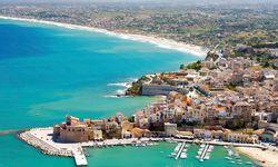 Sicily beach view