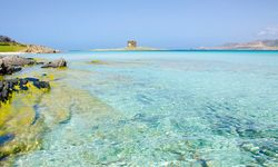 Blue ocean in Sardinia
