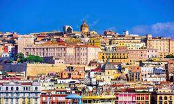 Colourful Sardinia buildings