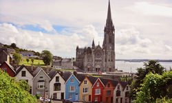 Pictured is the Irish village of Cork