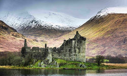 The ruins of Argyll and Bute