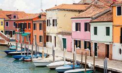 Boats and buildings in Venice