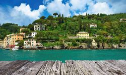 The boardwalk crop of Portfino