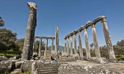 Ancient Ruins on the Aegean Coast