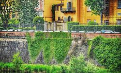 Florence riverbank