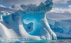 An ice floe in Antarctica