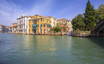Buildings in Venice on canals