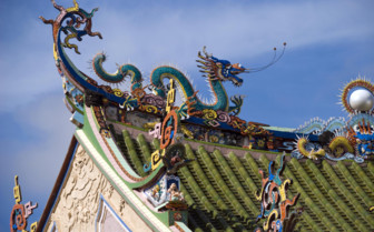 Temple Roof in Penang