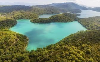 Blue seas in Croatia