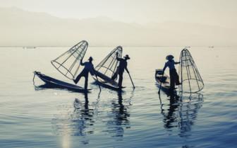 Myanmar fishermen