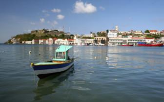 Fishing Boat in Grenada