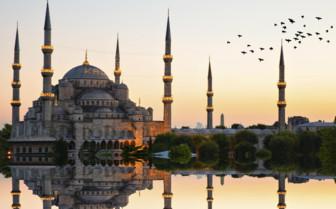 Mosque Sunrise Istanbul