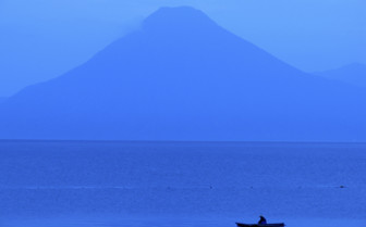 Fisherman on Lake Atitlan