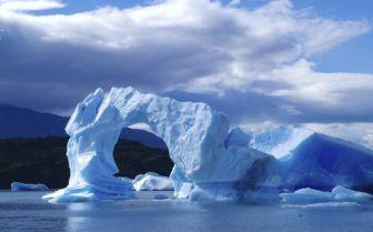 Ice Arch in Antarctica