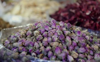 Dried Flowers at the Market, Dubai