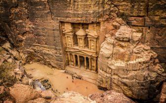Petra Treasury, Jordan