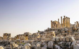 Old Ruins in Jordan