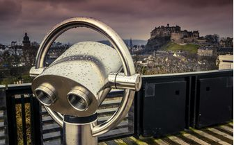 A view of Edinburgh Castle