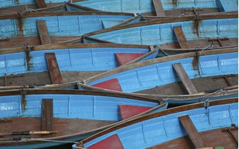 Oxford punting boats
