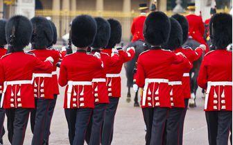 An image of Buckingham Palace Guards