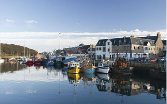 A picture of Stornoway Harbour