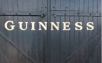 A picture of a Guinness storehouse, Dublin