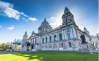 A picture of Belfast City Hall