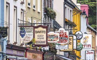 Pubs in the Irish town of Kinsale