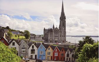 Pictured is the Irish village of Cork