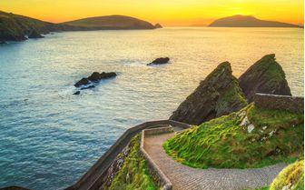 The Dingle Peninsula on Ireland's southwest Atlantic coast