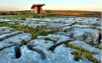 A view of Poulnabrone dolmen