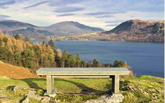 A bench view of the lake District