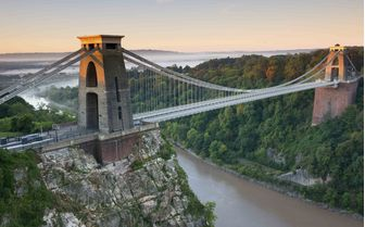A picture of the Suspension Bridge in Clifton, Bristol